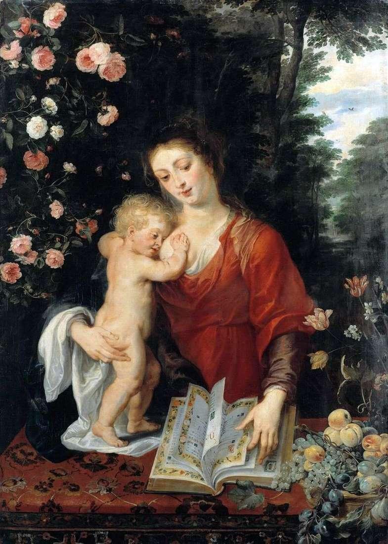 Madonna z Dzieciątkiem   Peter Rubens