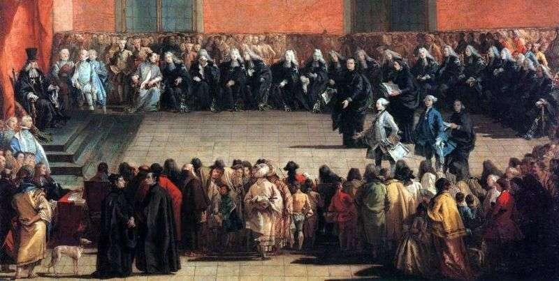 Arena Meeting   Giovanni Battista Tiepolo