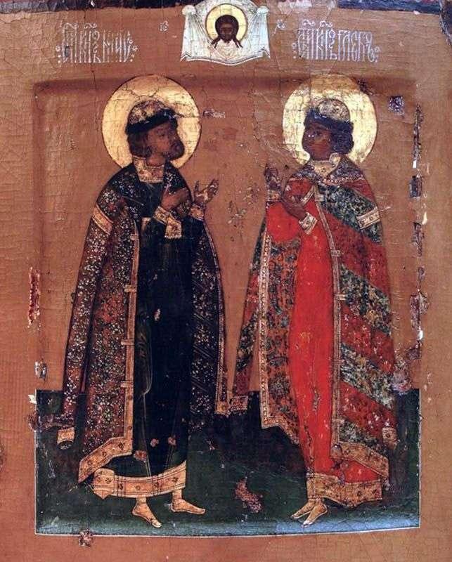 Święci książęta Borys i Gleb