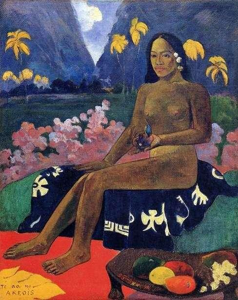 Te Aa No Areois   Paul Gauguin