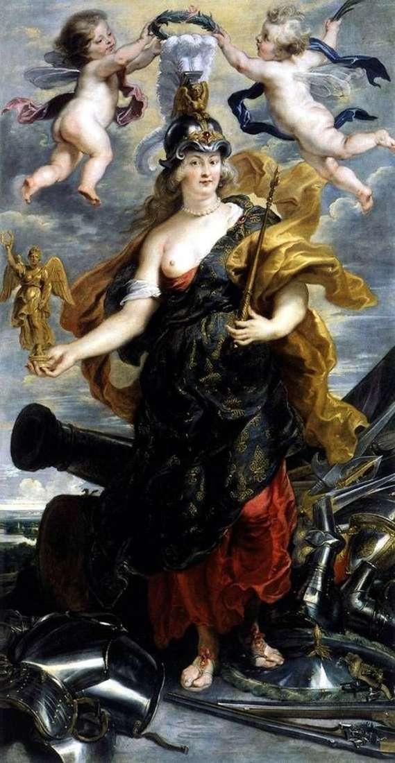 Maria Medici jako Bellona   Peter Rubens