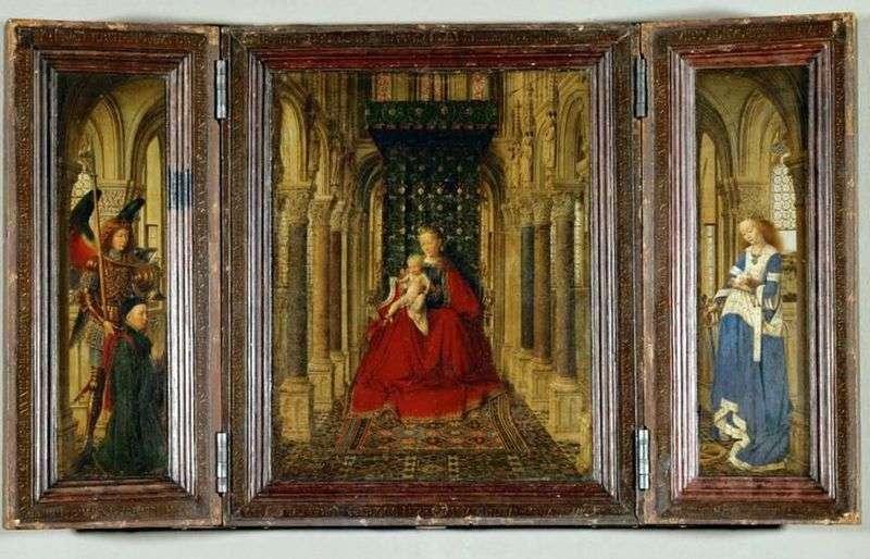 Ołtarz   Jan Van Eyck