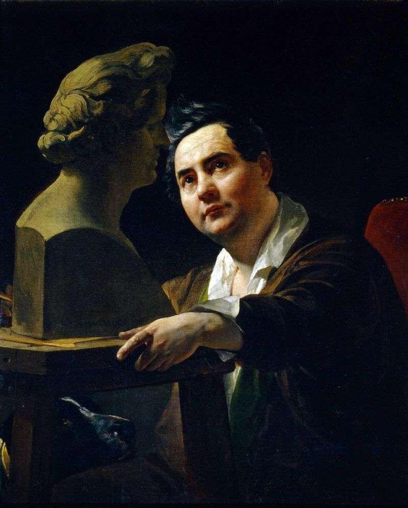 Portret rzeźbiarza I. P. Witali   Karl Bryullov