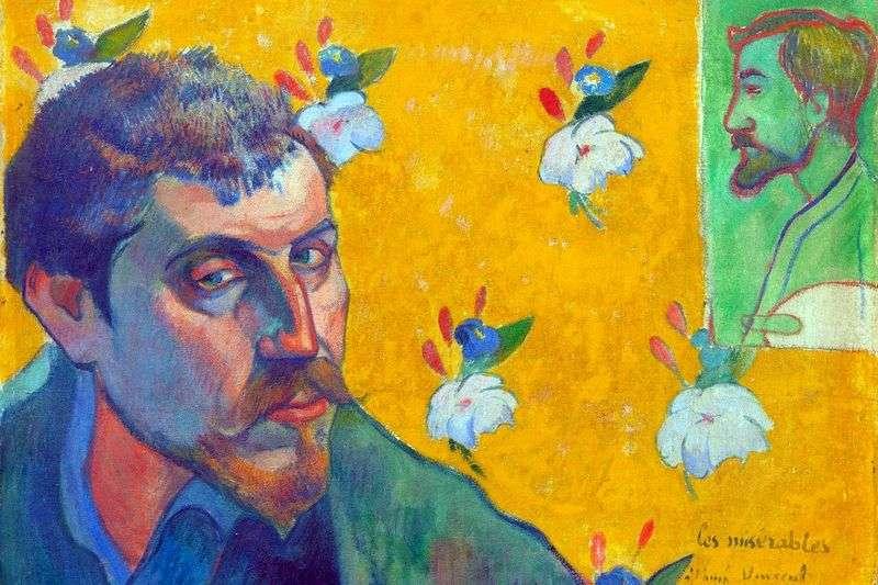 Autoportret Les Miserables (Wyrzutek)   Paul Gauguin