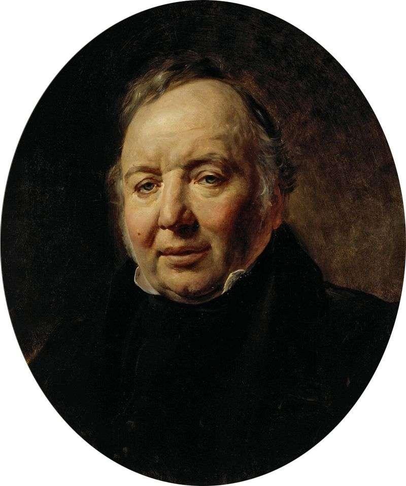 Portret Francesco Ascani   Karl Brullov