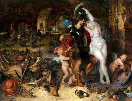 Mars rozbrojono Wenus   Petera Rubensa