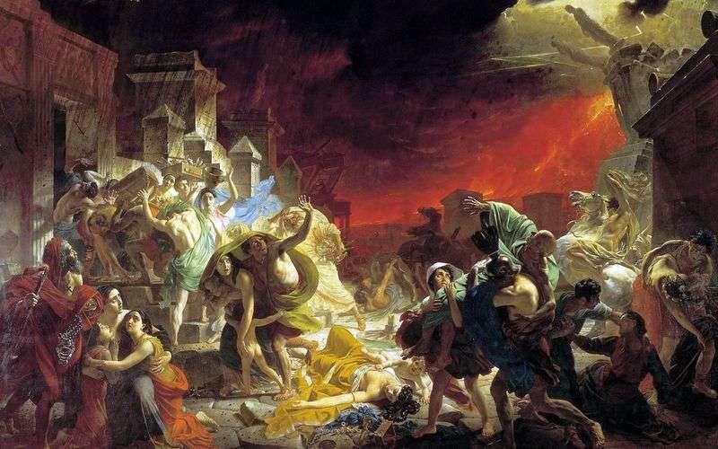 Ostatni dzień Pompejów   Karl Brullov
