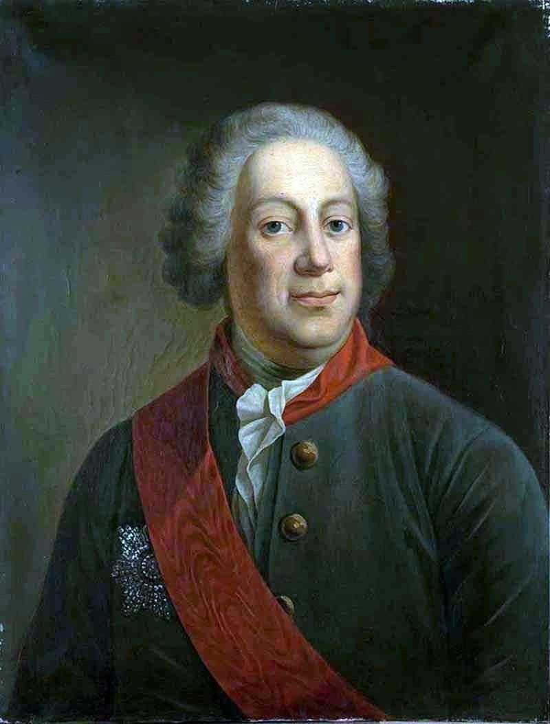 Portret barona I. A. Korfa, prezesa Imperial Academy of Sciences   Iwan Alekseevich Tyurin