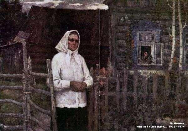 Czeka na swojego syna   Władimira Igoszowa