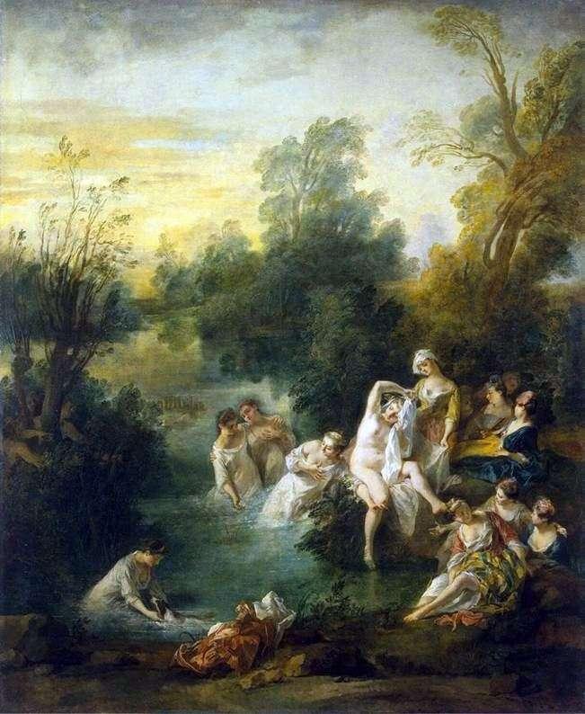 Kąpiący się   Nicola Lancre