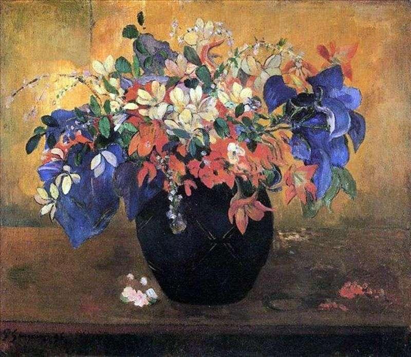 Bukiet kwiatów   Paul Gauguin
