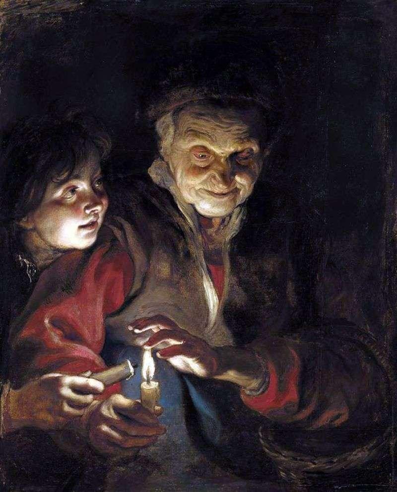Nocna historia   Peter Rubens