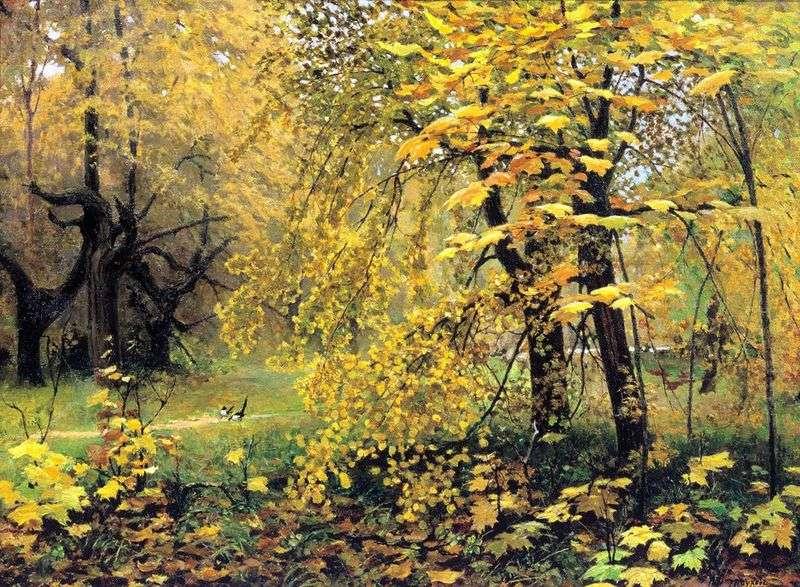 Złota jesień   Ilya Ostroukhov