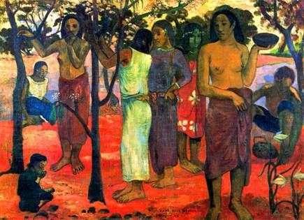 Wielkie dni   Paul Gauguin