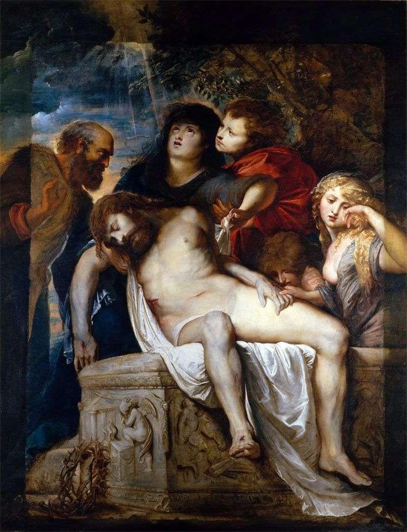 Lamentowanie Chrystusa   Peter Rubens