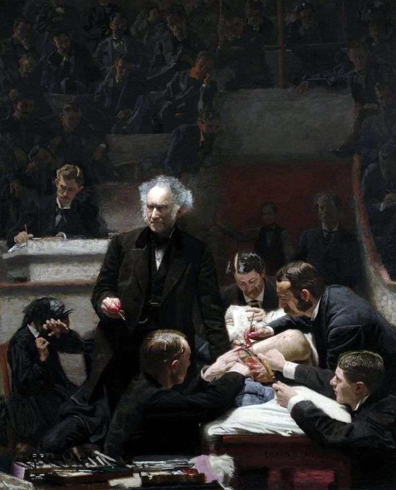 Klinika Grossa   Thomas Eakins