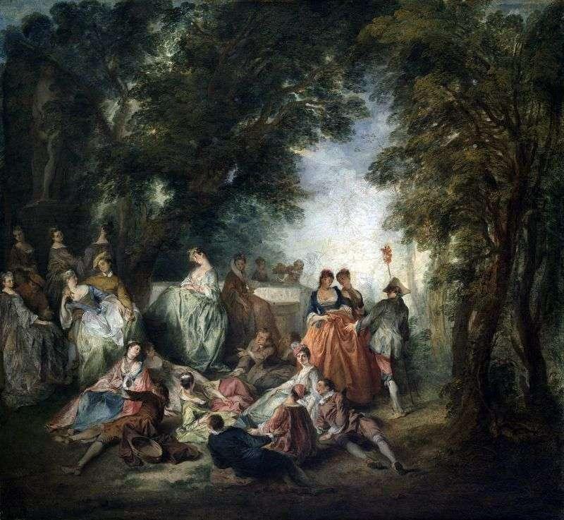 Społeczeństwo w parku   Nicola Lancre