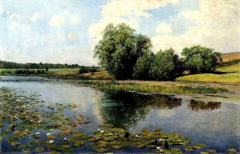Rzeka w południe   Ilya Ostroukhov