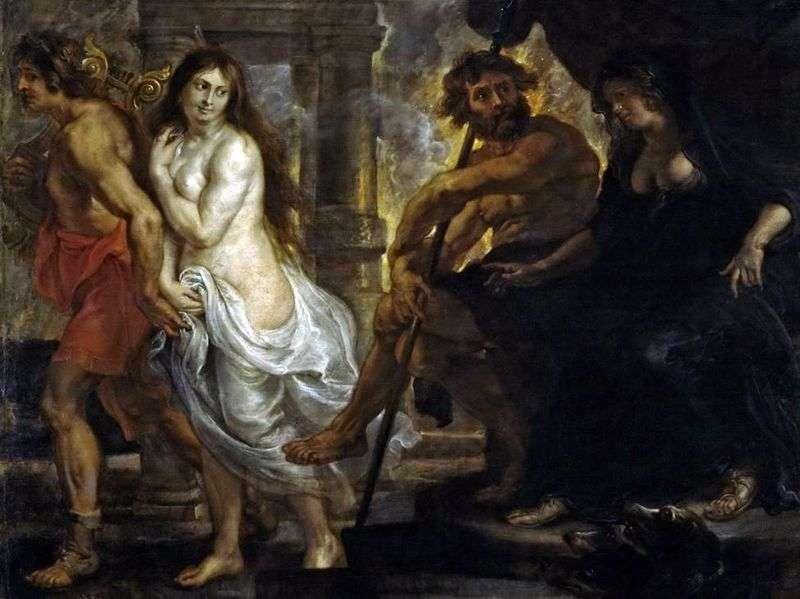 Orfeusz i Eurydyka   Peter Rubens