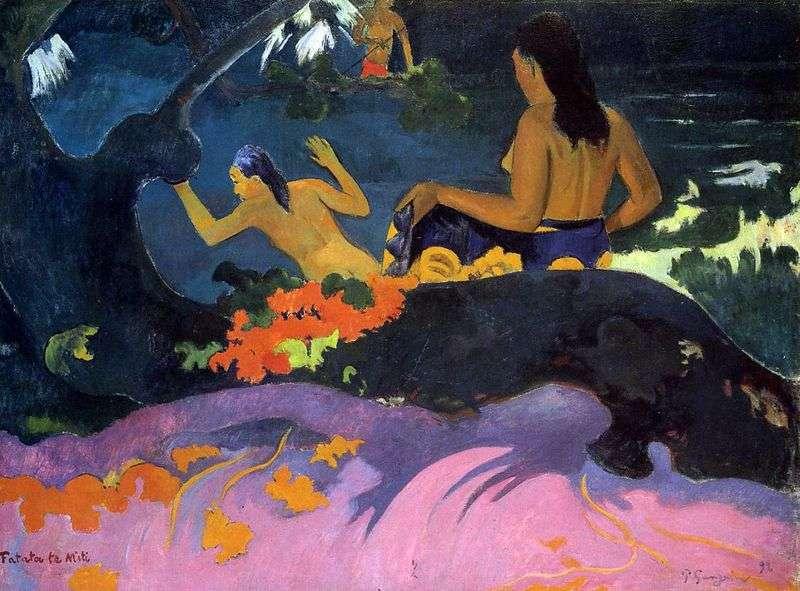 Blisko morza   Paul Gauguin