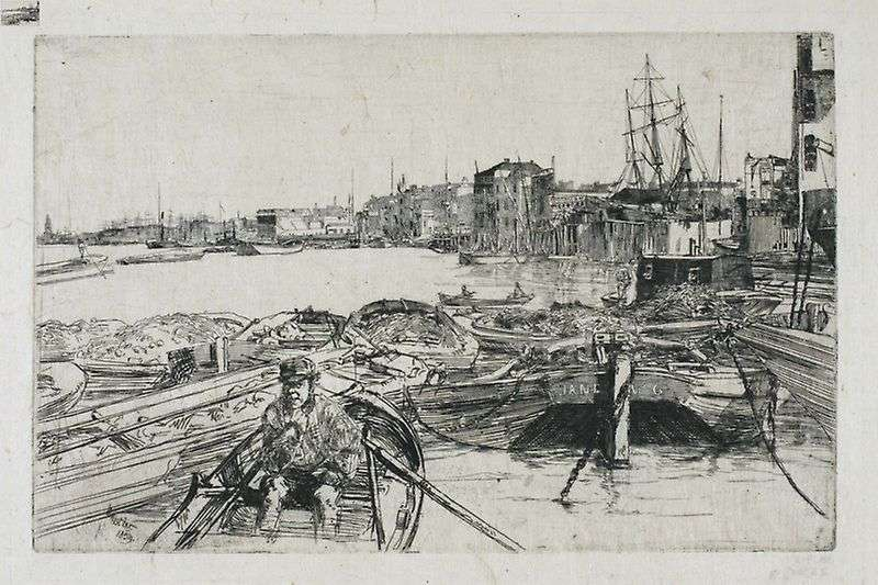 Backwater   James Whistler