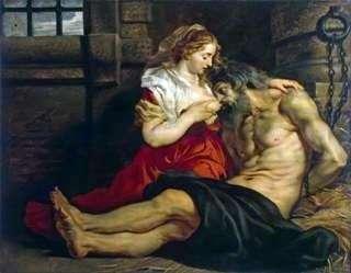 Rzymska miłość do Rzymian (Zimon i Pióro)   Peter Rubens
