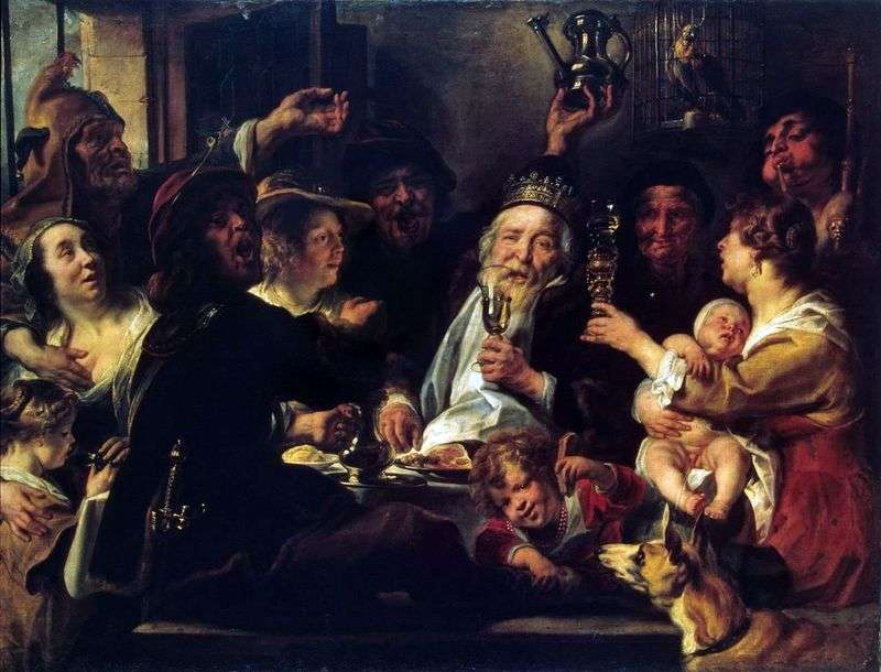 The Bean King   Jacob Jordaens
