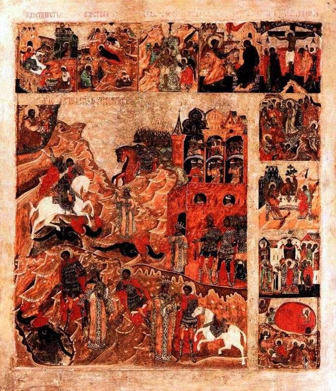 Cud św. Jerzego węża, z 9 cechami charakterystycznymi świąt