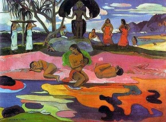 Dzień bez bogów (Dzień bóstwa   Mahana, ale Natua)   Paul Gauguin