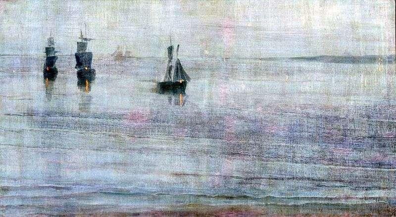 Nocturne: Le Solent   James Whistler
