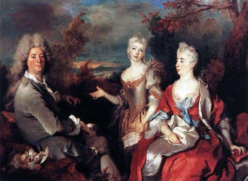 Portret rodzinny   Nicola de Largillera