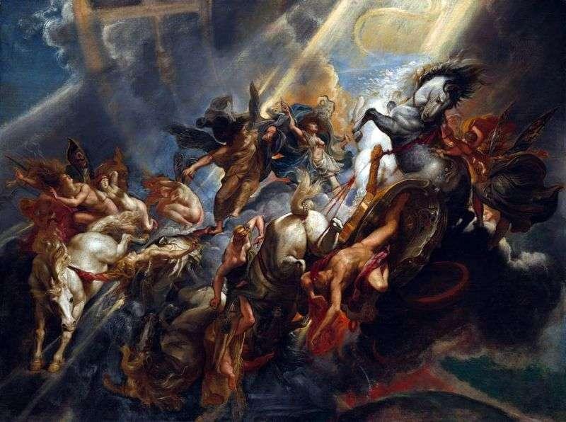 Upadek Faetona   Peter Rubens