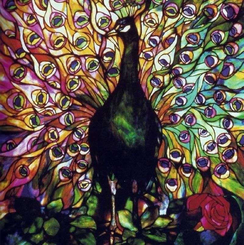 Peacock Warsztat Tiffanyego   James McNeil Whistler