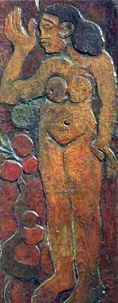 Rzeźba w drewnie   Paul Gauguin