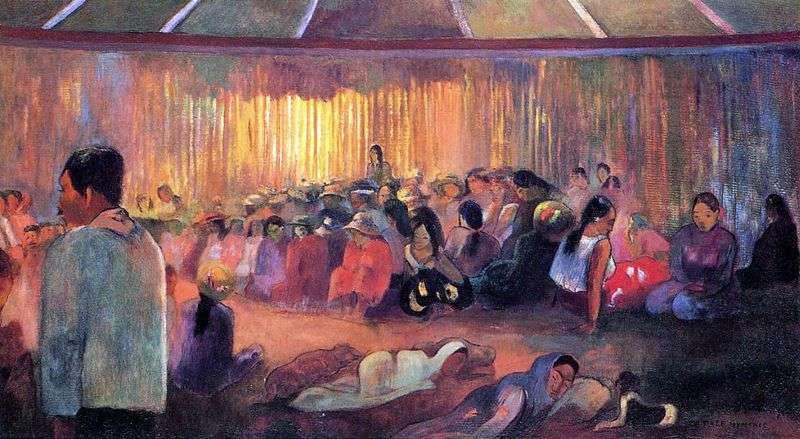 House of Hymns   Paul Gauguin