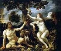 Kuszenie Adama i Ewy   Jacob Jordaens