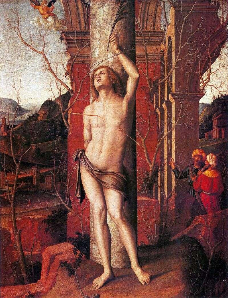 Święty Sebastian   Marco Palmezzano