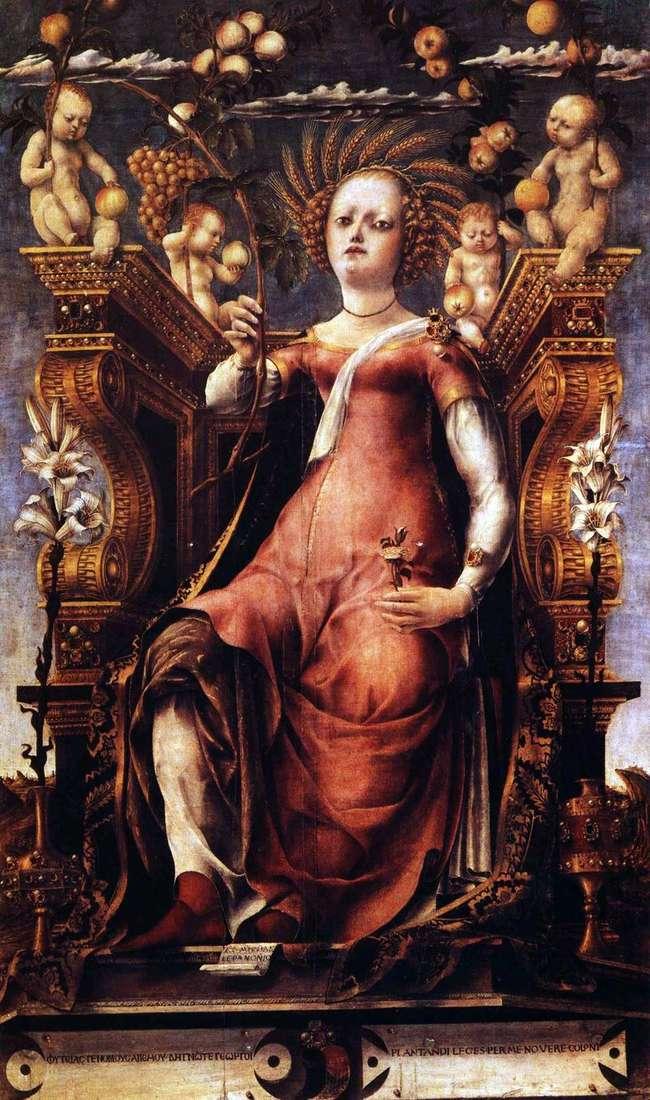 Muse Talia   Michele da Pannonio
