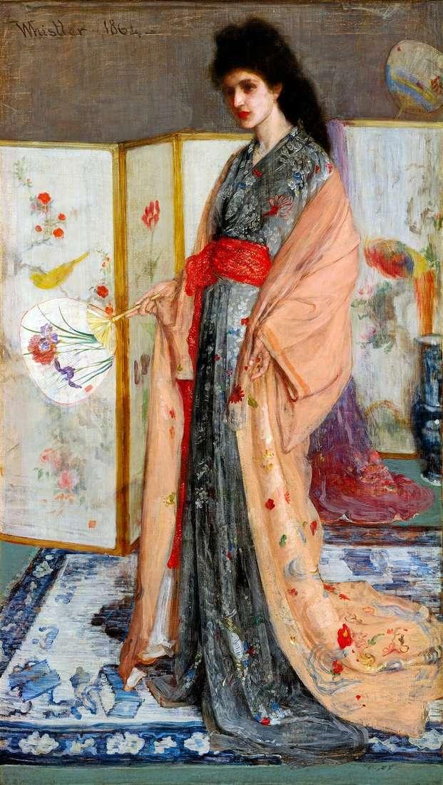 Księżniczka Chin   James Whistler