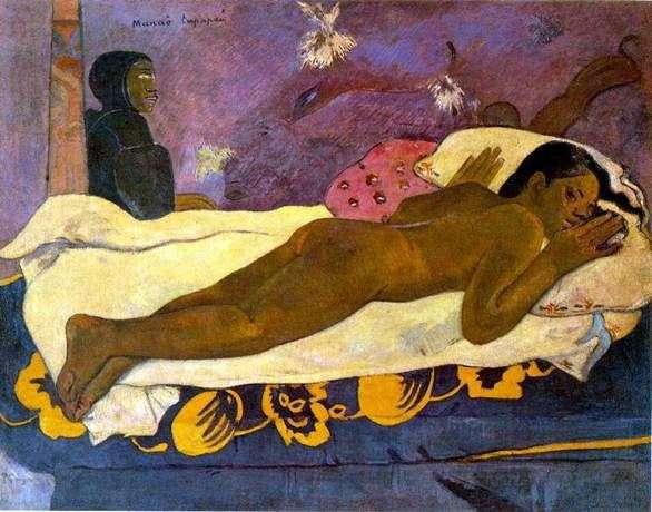 Duch zmarłych czeka (duch zmarłych nie śpi)   Paul Gauguin