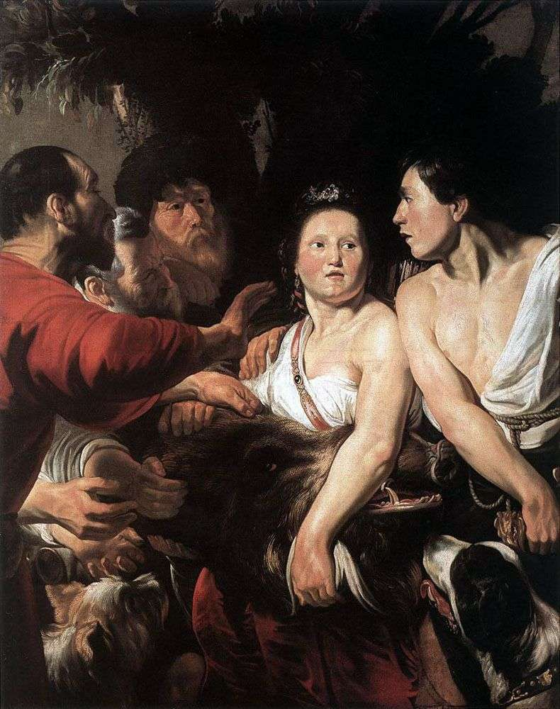 Meleager i Atalanta   Jacob Jordaens