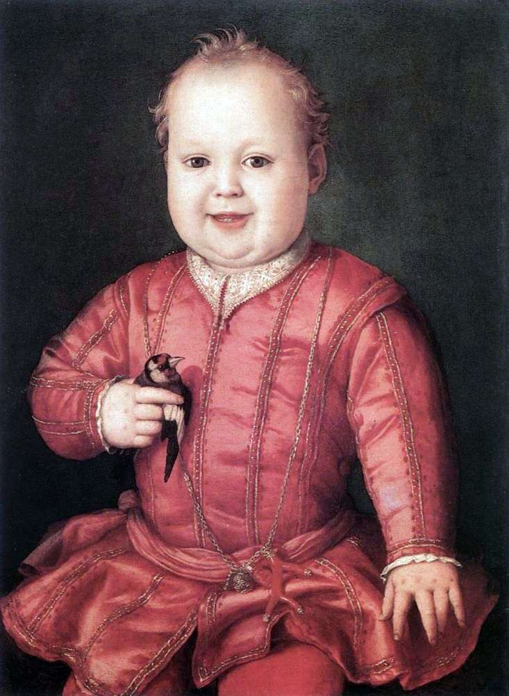 Portret Giovanni Medici   Agnolo Bronzino