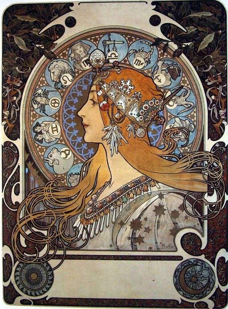 Zodiak   Alphonse Mucha