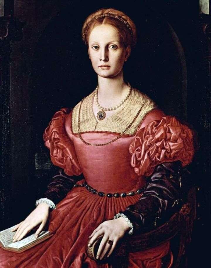 Portret Lucretia Panchatica   Agnolo Bronzino