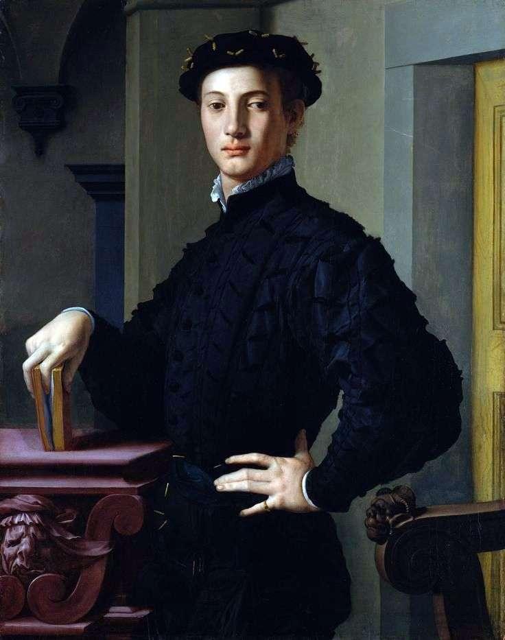 Portret młodego mężczyzny   Agnolo Bronzino