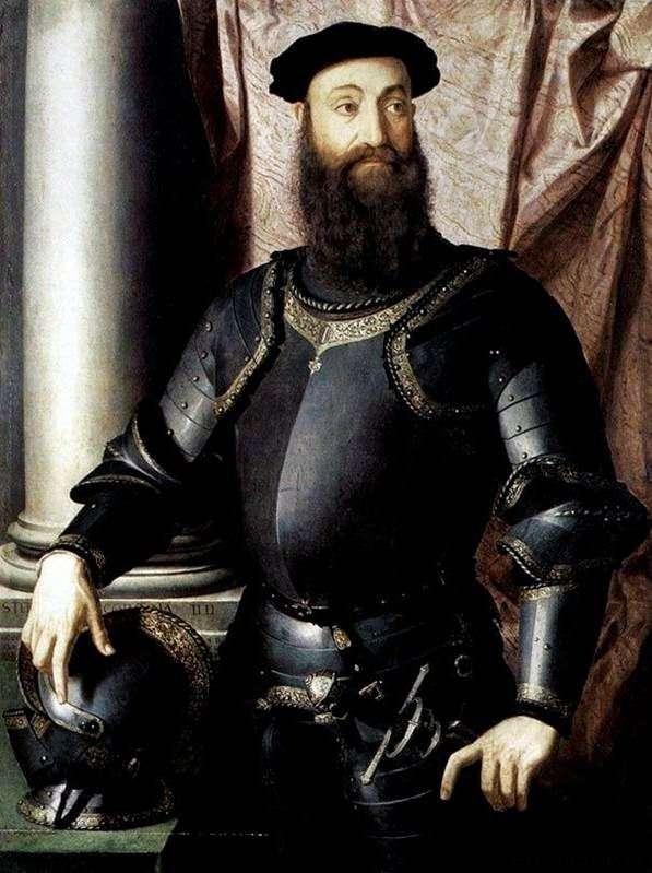 Portret Stefano Colonna   Agnolo Bronzino