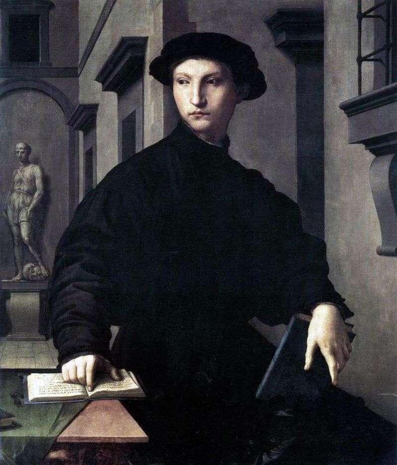Portret Ugolino Martelli   Agnolo Bronzino