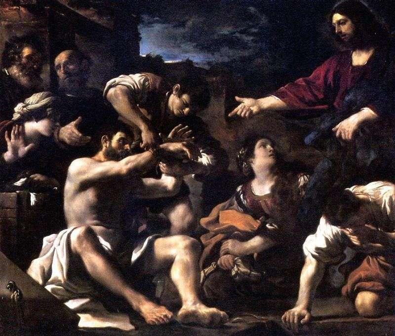 Zmartwychwstanie Łazarza   Gverchino