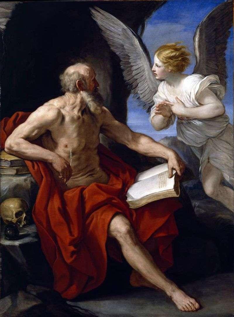 Święty Hieronim i Anioł   Renee Guido