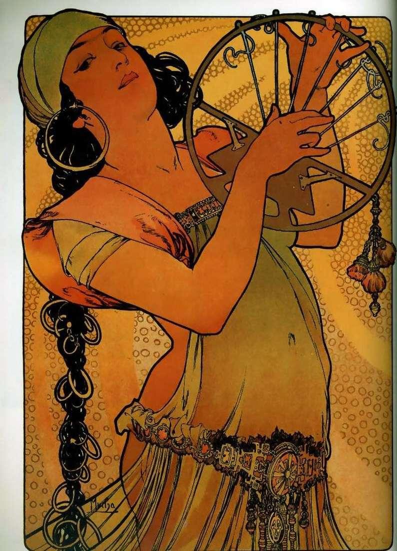 Salome   Alphonse Mucha